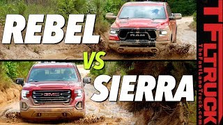 $60,000 Off-Road Truck Battle: Ram Rebel vs GMC Sierra AT4 vs Texas Mud