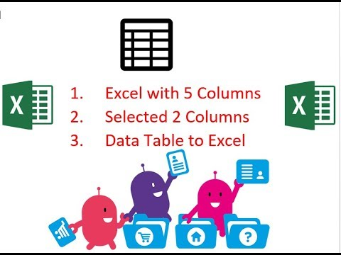 Copy Selective Columns from Excel and Paste in Another Sheet