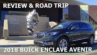 2018 BUICK ENCLAVE AVENIR - First Drive and Full Review