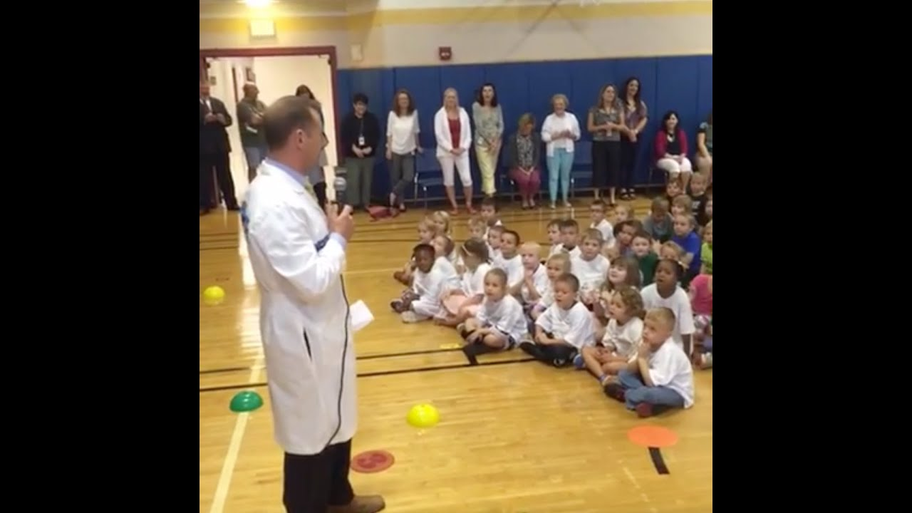 andy parker announces big tree elementary winner of september 2016 weather machine