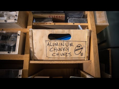 Adam Savage's Weekend Builds: Material Storage Improvements