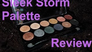 Sleek I-Divine Storm Palette - Review + Swatches Thumbnail