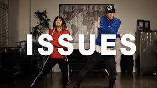 'ISSUES' - Julia Michaels Dance (remix) | @MattSteffanina ft Bailey Sok