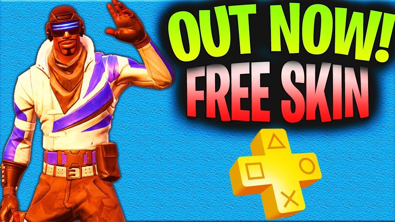 Playstation Plus Fortnite Free Skin | Winning A Fortnite ...