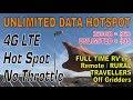 OGH - Unlimited Mobile Internet Cellular Hotspot for Rural or RV
