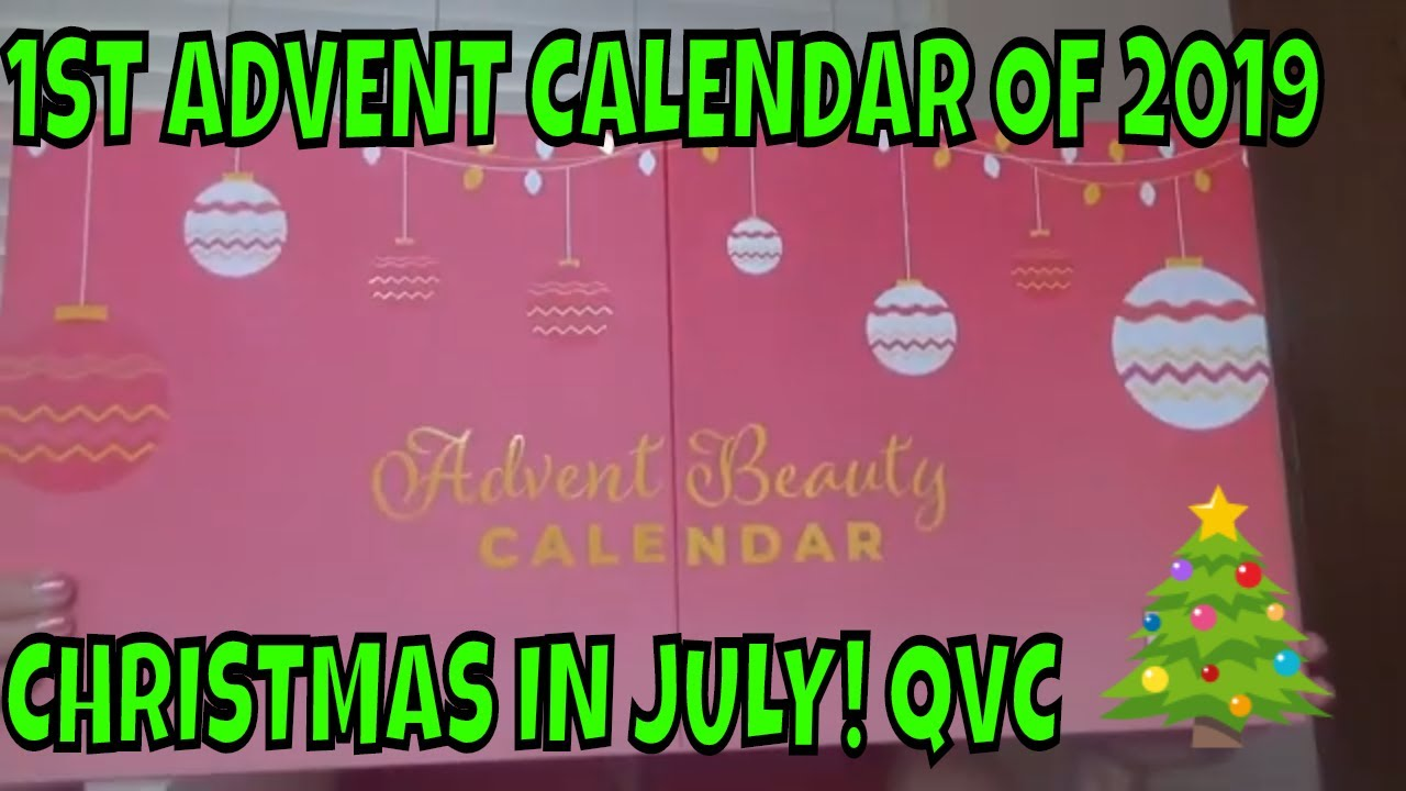 Christmas In July Qvc.Christmas In July Qvc Beauty Advent Calendar 2019