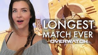 LONGEST MATCH EVER! (Overwatch Competitive) | Kitty Plays