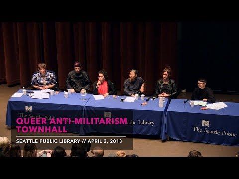 Queer Anti-Militarism Townhall: Trans Liberation Not U.S. Invasion
