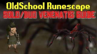 OldSchool Runescape - Venenatis: Solo & Duo Detailed guide