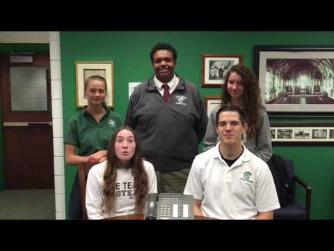 2017 Holy Name High School Phonathon Message