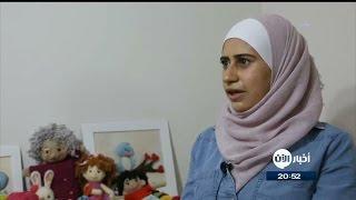 فنانة سورية ترسم البسمة على وجوه الأطفال