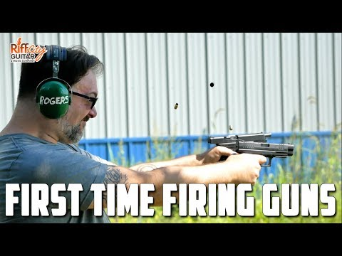 Shooting Guns for the First Time - Riff City Guitar