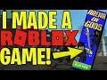 I MADE A ROBLOX GAME! ARENA OF GODS (BETA)