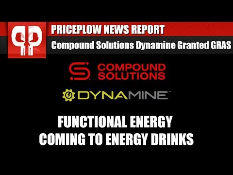 MAJOR ANNOUNCEMENT: Dynamine is GRAS! SAFE Functional Energy is Here