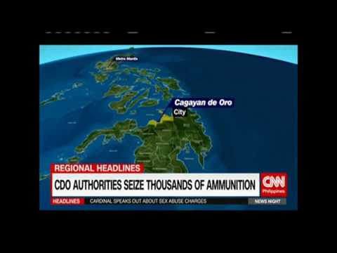 Latest News : Libu Libong Bala nakumpiska sa Cagayan De Oro City