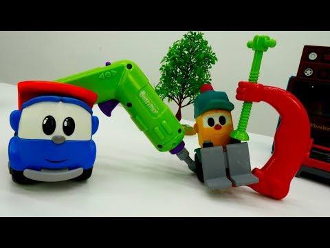 Leo the Truck. A Car Repair. Toy Videos