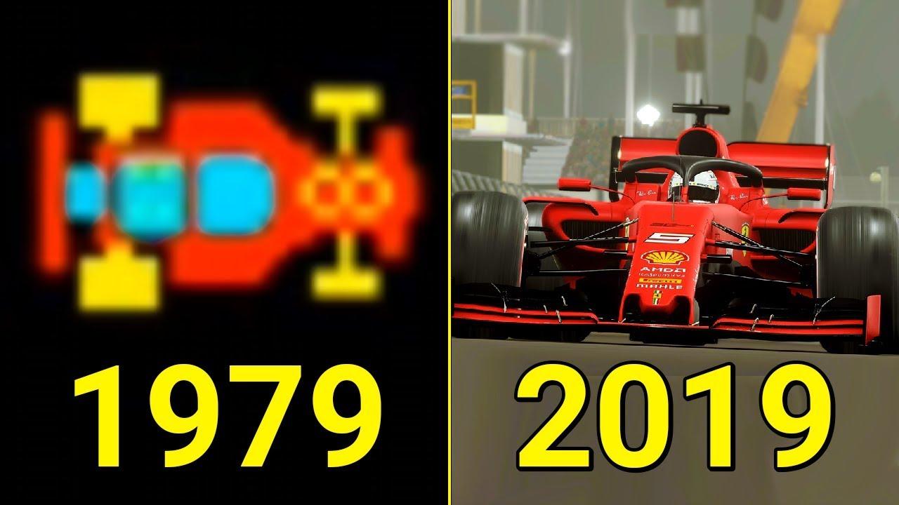 Evolution of F1 Games 1976-2019