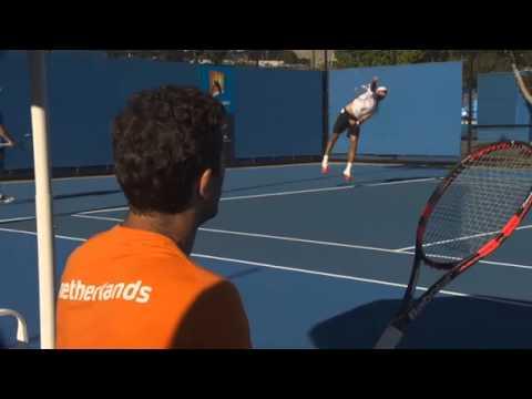 Australian Open 2014 Rojer Tecau Interview