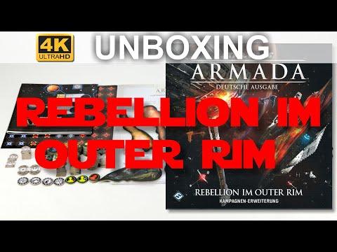 Star Wars: Armada - Rebellion Im Outer Rim - Unboxing - Rebellion In The Rim (4K)