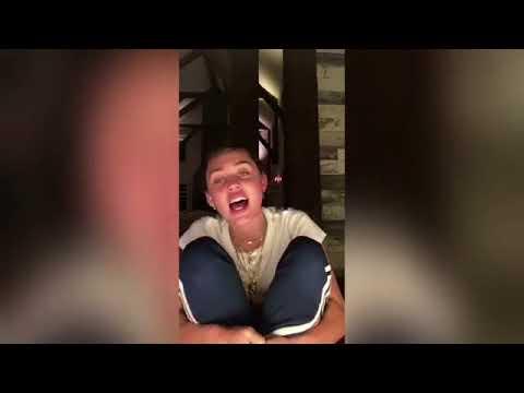 Miley Cyrus sings The Climb - Instagram LIVE stream 2017