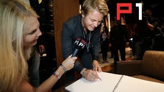 F1 Drivers get arty - Nico Rosberg