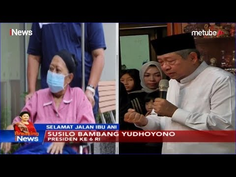 SBY Menangis Ceritakan Detik-detik Ani Yudhoyono Hembuskan Nafas Terakhir - Breaking INews 02/06