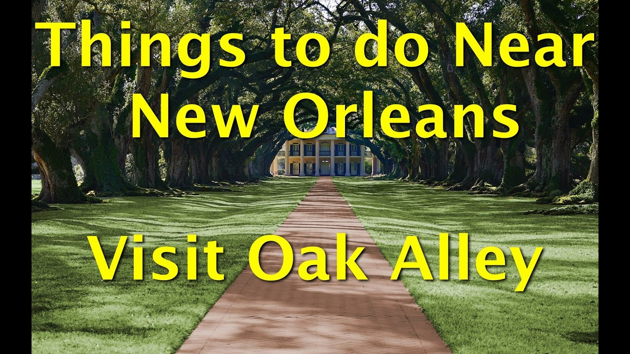 Things to see near New Orleans - Oak Alley Plantation Home - YouTube