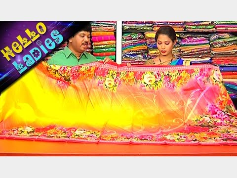 Latest Collections of Jaipur Georgette And Dhupiyana Printed Sarees    Hello Ladies    Vanitha TV