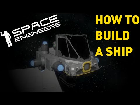Space Engineers Building With Projectors