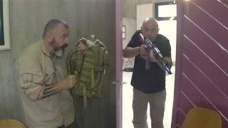 Defense avec sac a dos contre AK 47 et autres armes Episode 2