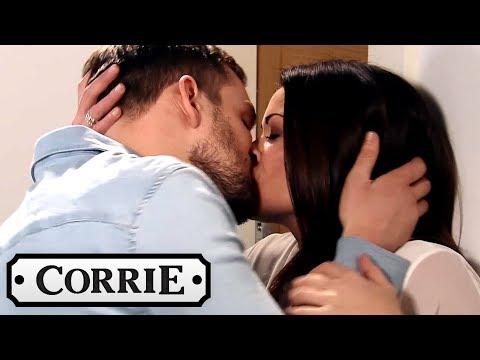 Coronation Street - Michelle Catches Carla Kissing Ali!