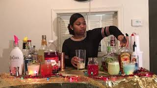 Holiday Cocktails w/ Golden Shots