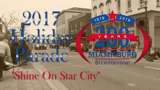 2017 Miamisburg Holiday Parade