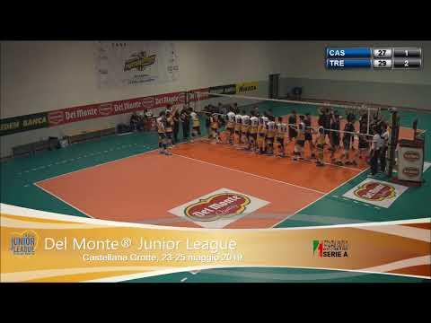 #delmontejunior #live Semifinale Campo2 - Materdominivolley.it - Itas Trentino