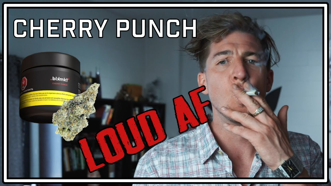 Smoking the Strongest Legal Cannabis on the Market - BLKMKT | Cherry Punch