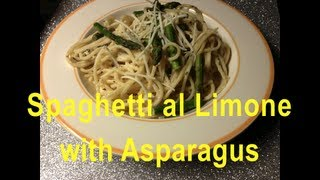 Spaghetti Al Limone With Asparagus Recipe