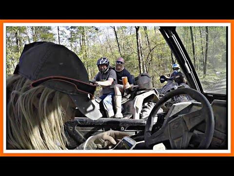Wolfpen gap trails in Mena Arkansas... CLIMBING MOUNTAINS