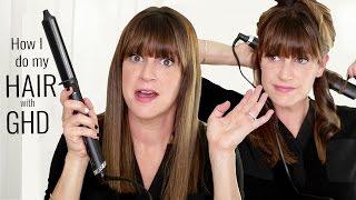 How I do my Hair with GHD