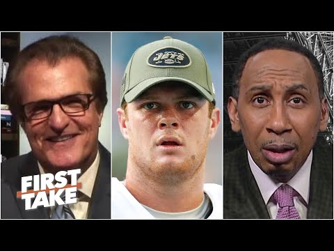 'Who are you?!' - Stephen A. can't believe Mel Kiper's Sam Darnold-Jets take | First Take