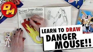 Learn To Draw With Danger Mouse!! | Danger Mouse