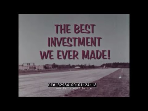 FAA PROMOTIONAL FILM FOR SMALL AIRPORT CONSTRUCTION w/ ARTHUR GODFREY