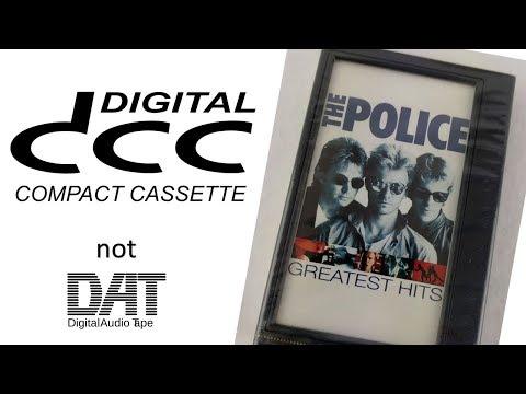 """Philips DCC 130 Portable Digital Cassette Player """"Walkman"""""""