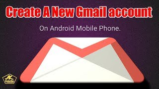 Erstellen Sie ein neues Google Mail-Konto auf dem Android-Handy. /AK-Produktion