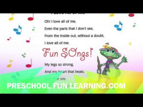 I Love All of Me Song Preschool Fun Learning Music