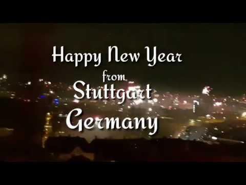 Happy New Year! 2018 Stuttgart Germany