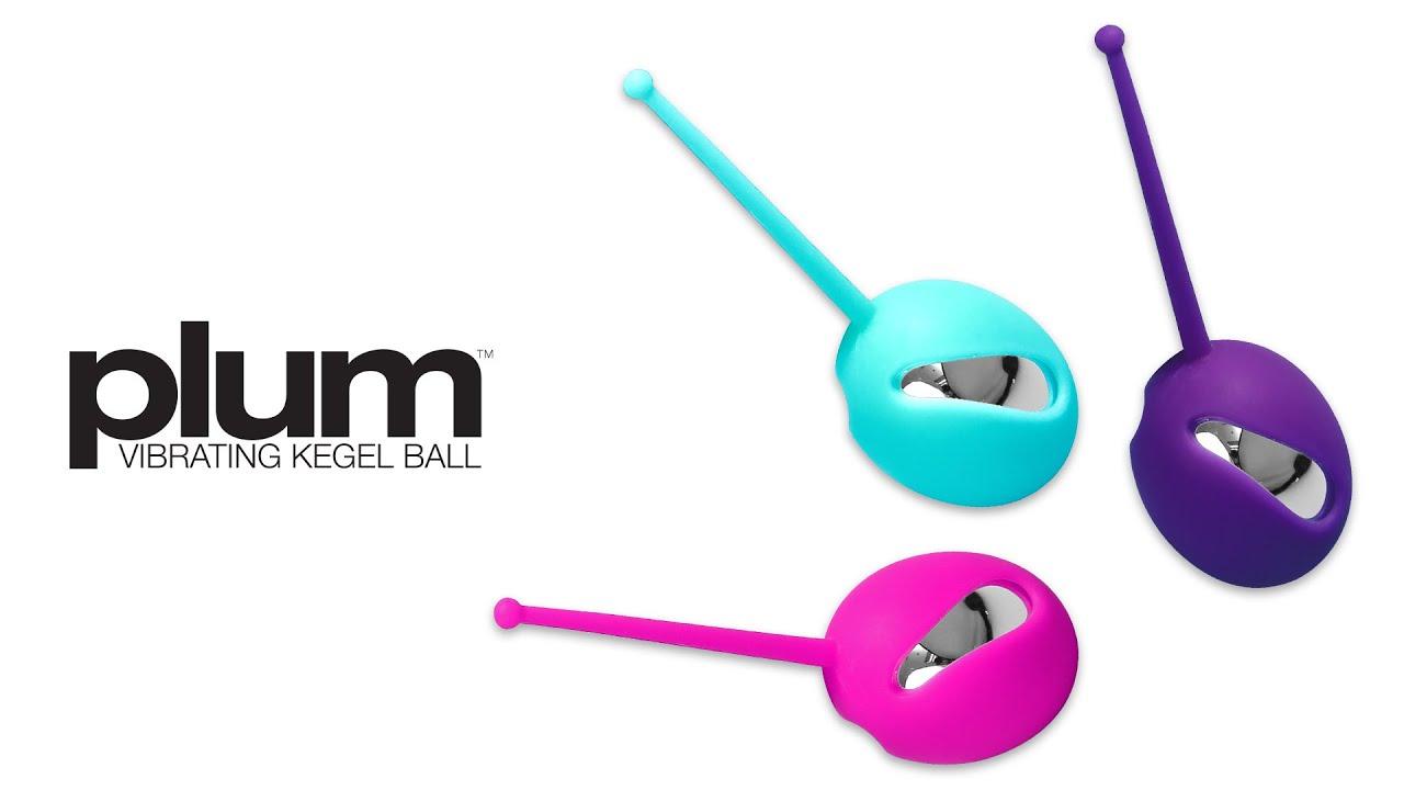 VeDO -  Vibrating Plum Kegel Ball