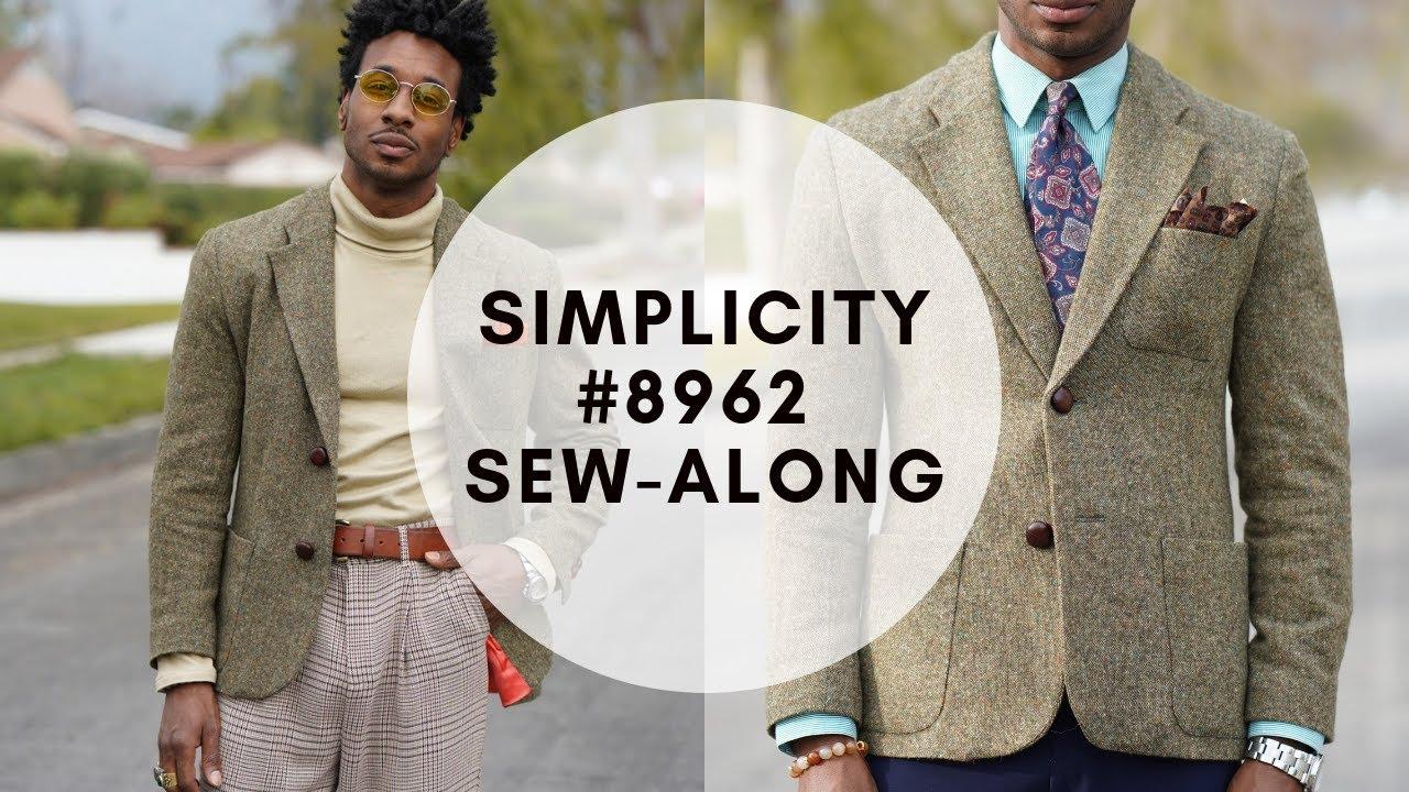 Download SEW-ALONG SIMPLICITY 8962: MEN'S SUIT JACKET