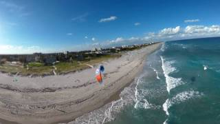 Florida Travel: 360 Video: Kiteboarding in Delray Beach