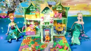 Frozen Fever Hideaway Hollow Stella Squeak's Cottage Disney Birthday Party Princess Anna Queen Elsa