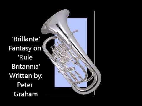 Andre Carpenter (Euphonium) - Brillante by Peter Graham